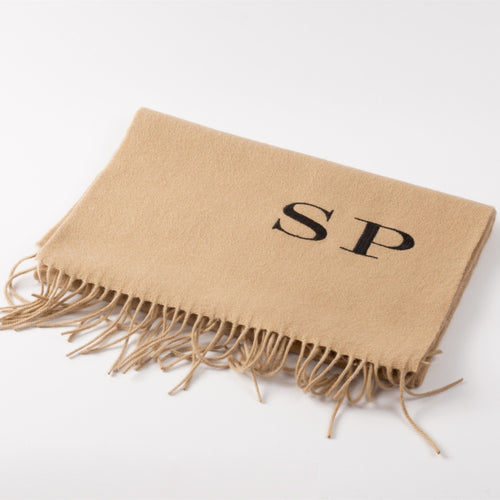 Customized cashmere women scarf