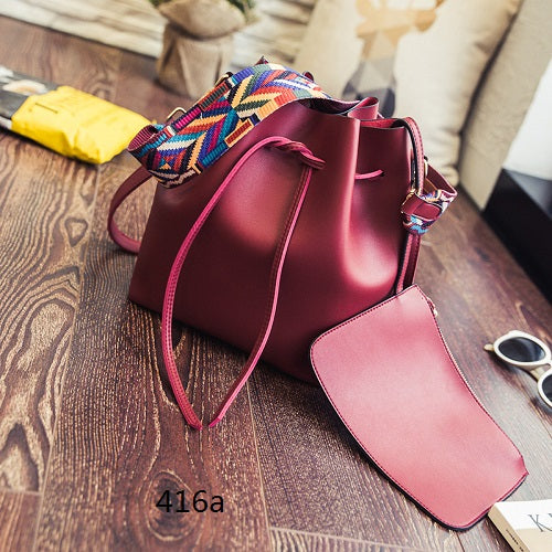 Crossbody Bucket Bag - ChicPorter.Com
