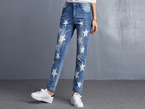 Stretch women jeans - ChicPorter.Com