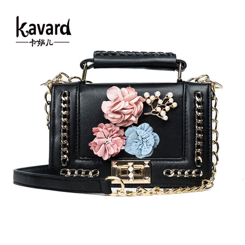Embellished Mini Crossbody Bag - ChicPorter.Com