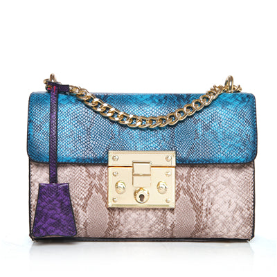 Luxury Handbags Women Bags Designer Serpentine Crossbody Bags for Women 2017 Famous Brands Messenger Bag Female Sac a Main Femme - ChicPorter.Com