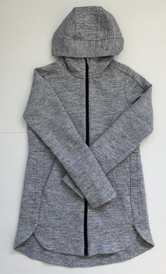 Lulu Lemon Heather Grey Hoodie/Jacket Size 4