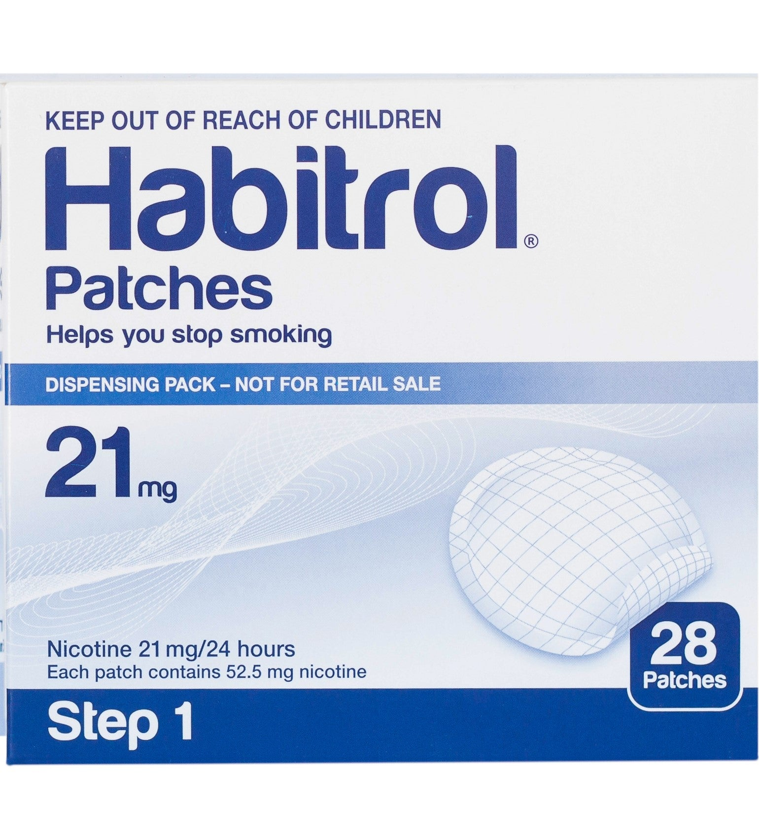 Habitrol Patches step 1 21mg