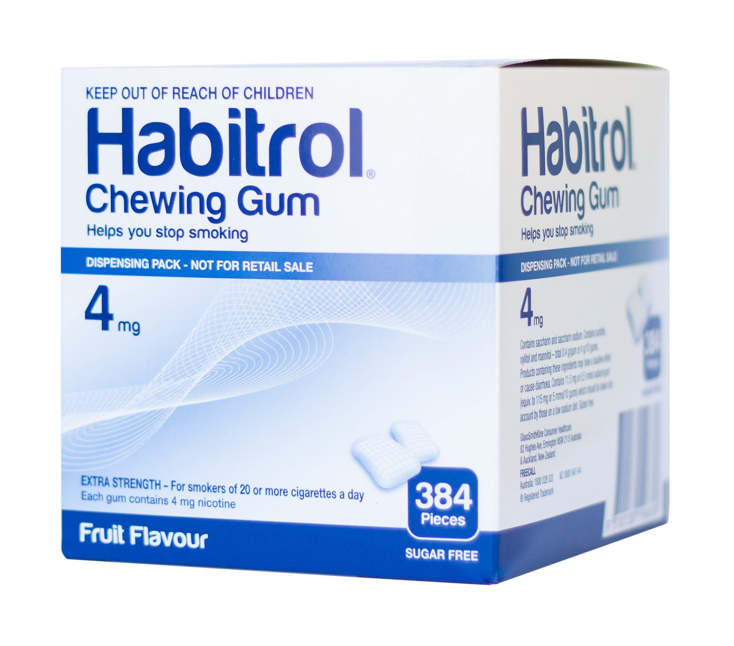 Habitrol 4mg Fruit bulk