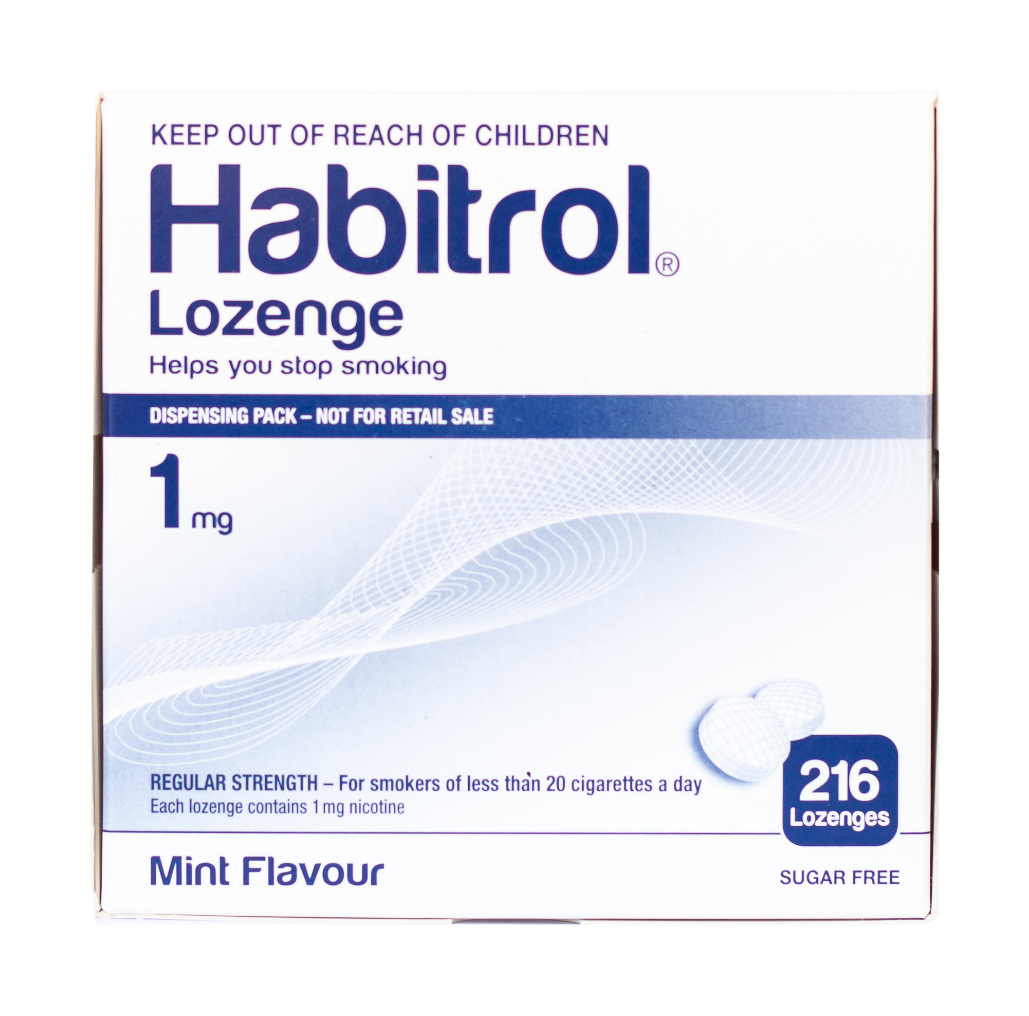 habitrol Lozenges 1mg