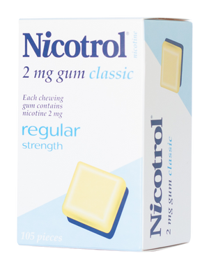 Nicotrol 2mg Regular gum