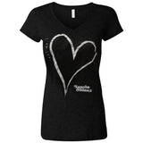 "Women's ""I Am Loved"" Tee in Black"
