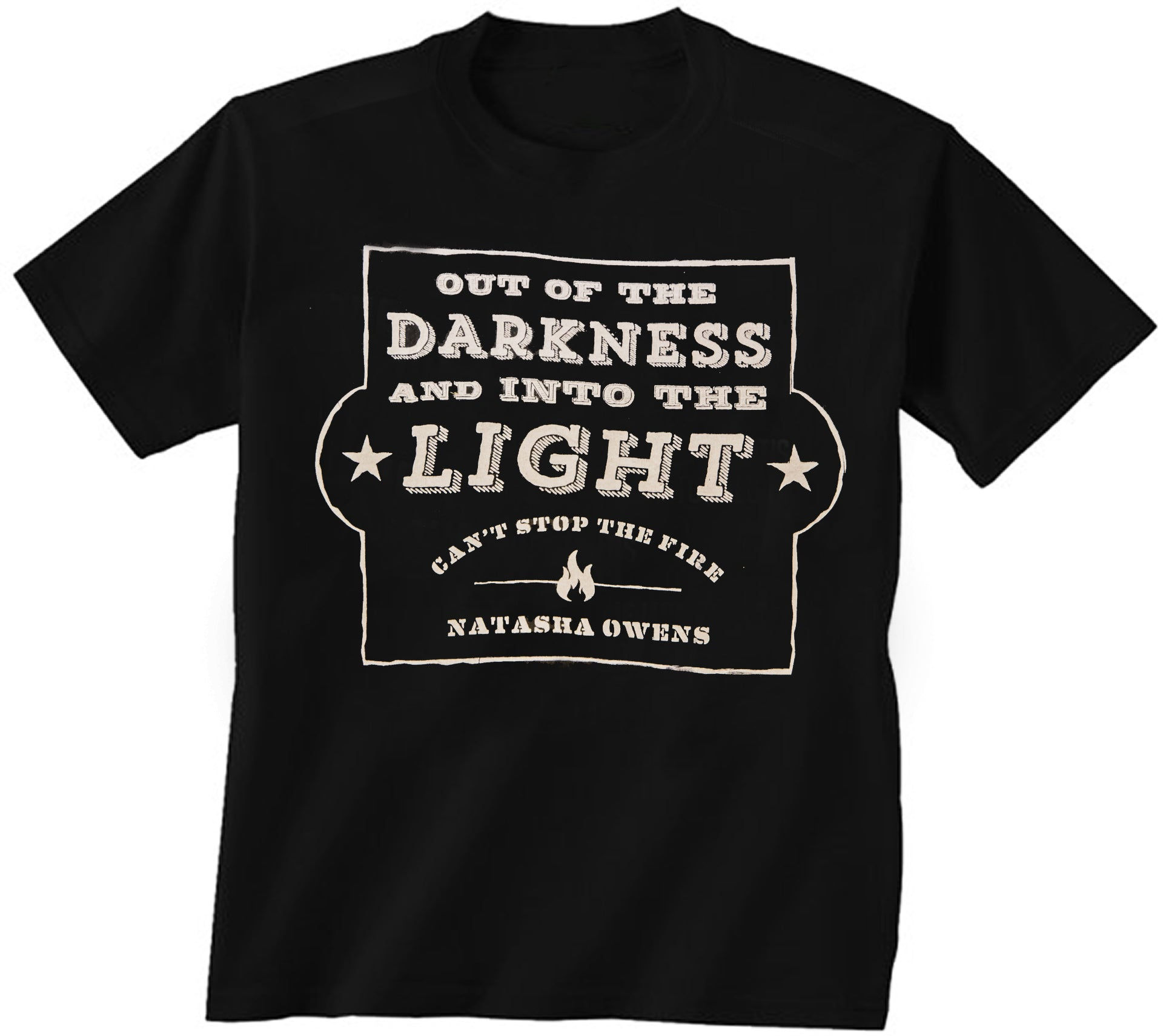 """Into the Light"" Lyric Tee"