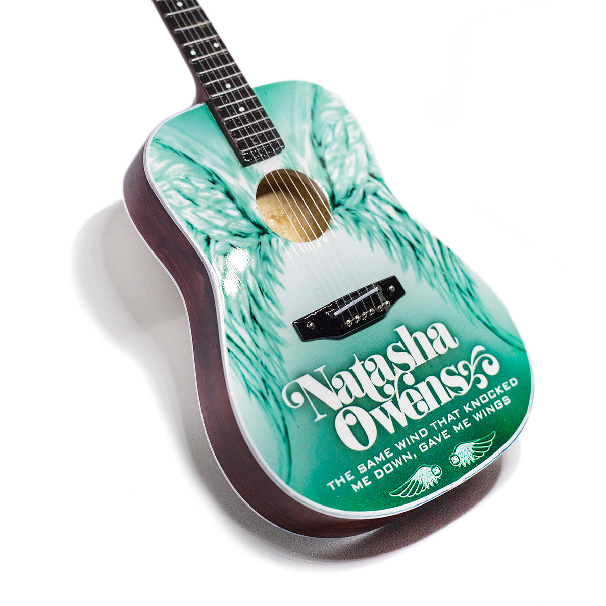 "Natasha Owens ""Wings"" Acoustic Mini Guitar"