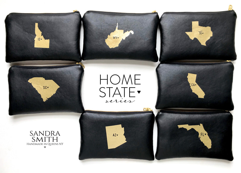 Home State Leather Bag in Texas