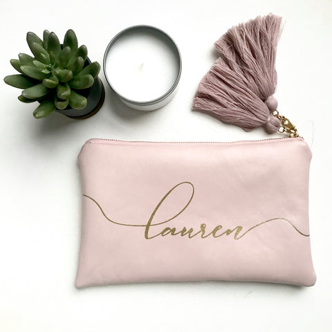 Personalized Clutch | Rose