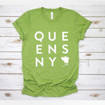 Queens Box Tee | Grass