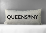 QUEENS NY PILLOW | Stone Linen