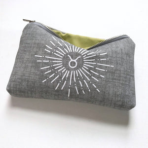 Grey UPLIFT Zodiac Bag