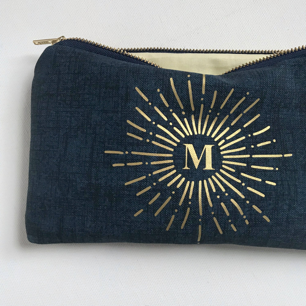 Navy Blue INSPIRE Zodiac Bag
