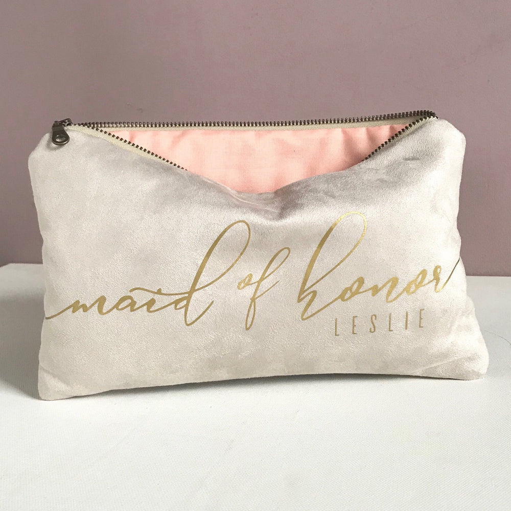 Champagne Bridal Clutch Bag