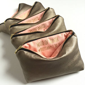 Bridal Party Gifts | Personalized Secret Message Bag
