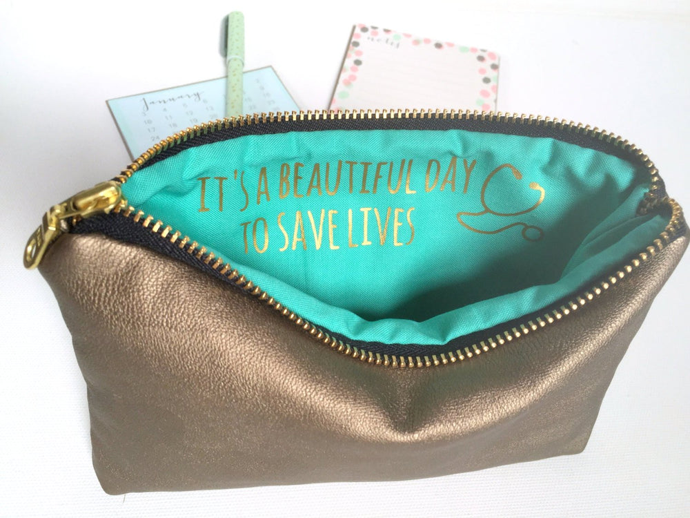 Personalized Gold INSPIRE Bag - Medical