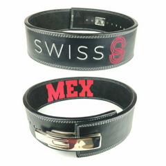 custom-leather-weightlifting-belt-black-suede-silver-lever-text