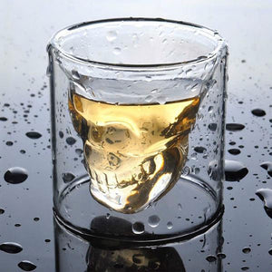 Copo de Whisky | Tequila Crystal Skull