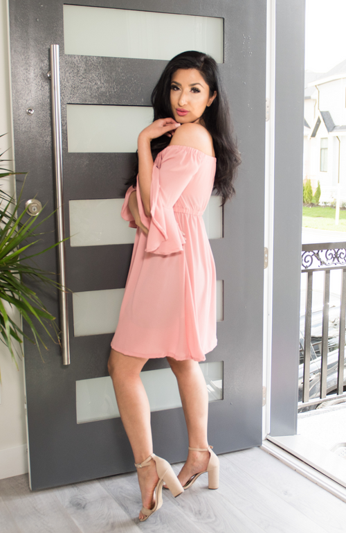 Kavya Blush Dress