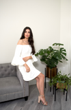 Kavya White Dress