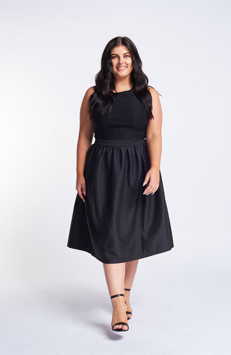 Saint Germaine Black Tie Dress