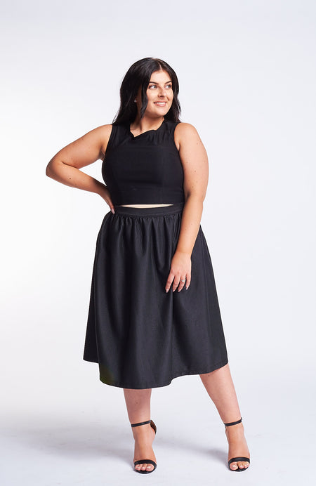 Bernetta Black Skirt