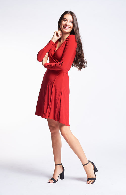 Kaia Red Dress
