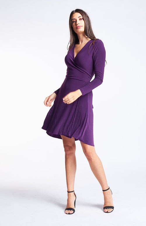 Kaia Mulberry Purple Dress