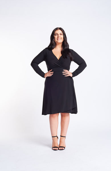 Kaia Black Dress