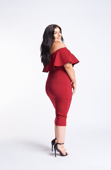 Kermes Scarlet Red Dress