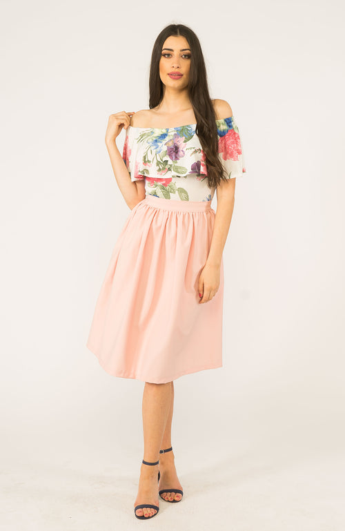 Bella Blush Skirt