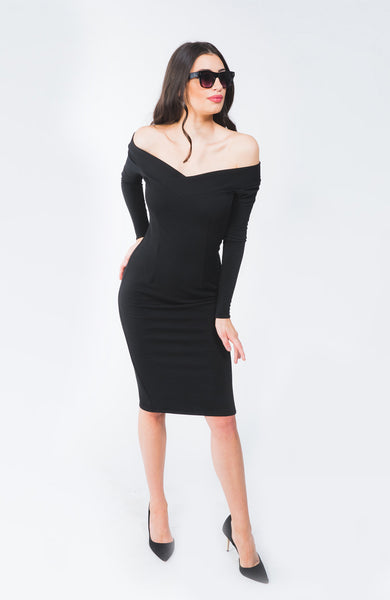 Kacie Black Dress