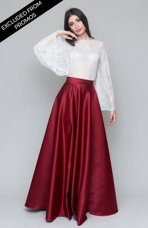 Sant'Andrea Red Skirt