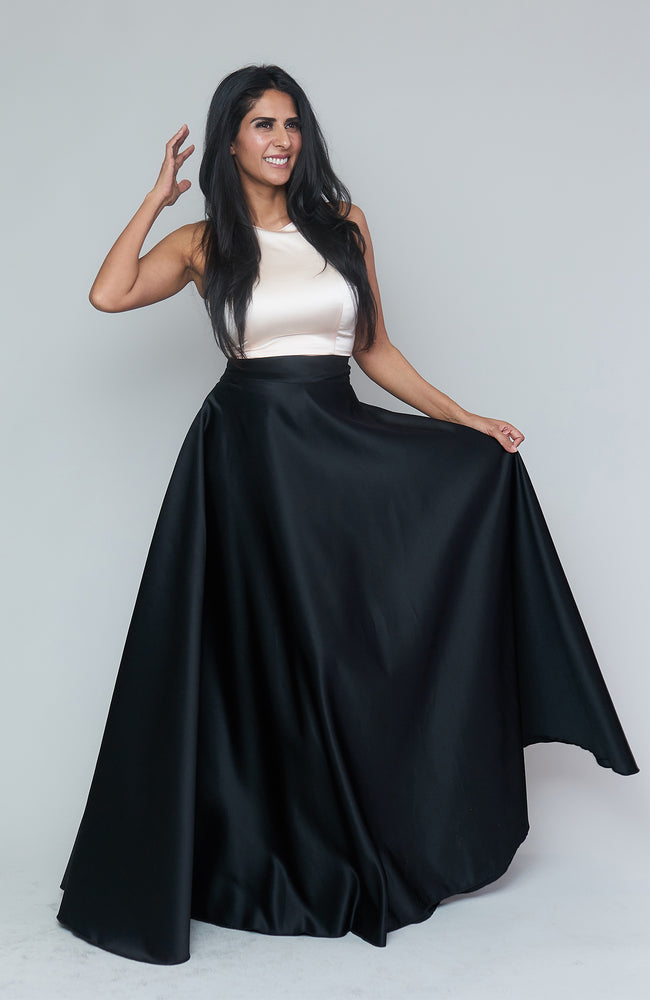 Sant'Andrea Black Skirt