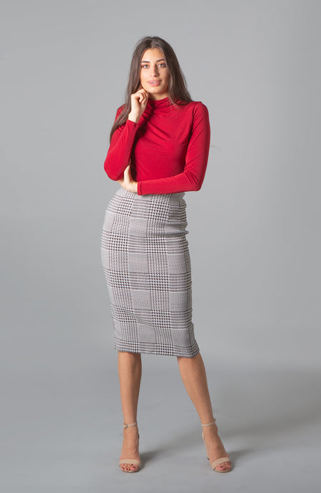 Amira Plaid Crop Top