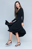 Kiara Black Dress