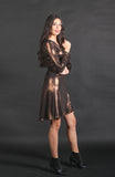 Kaia Metallic Dress
