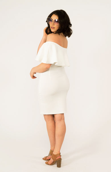 Kyra White Dress