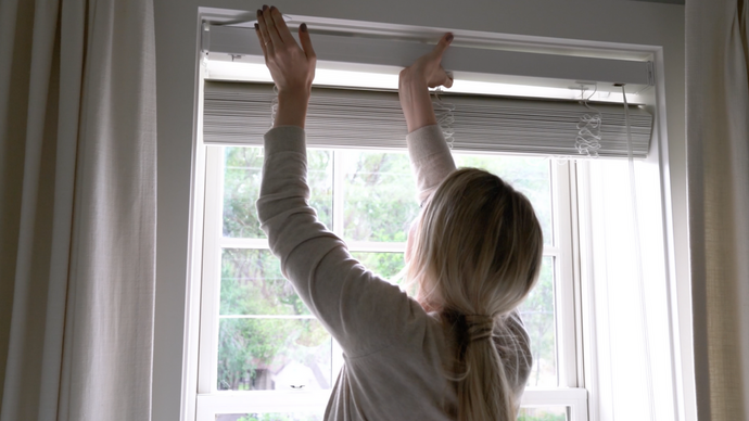 The Simplest-to-Install Window Coverings