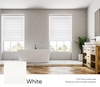 White Smart Blinds