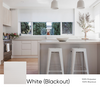 White (Blackout) Smart Roller Shades