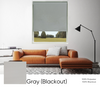 Gray (Blackout) Smart Roller Shades