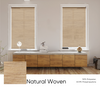 Natural Woven Smart Roller Shades
