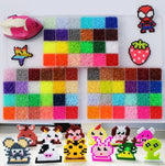 6500pcs/bag 2.6mm Hama Beads mixcolors For Choose Kids Education Diy Toys 100% Quality Guarantee Perler Beads Wholesale