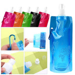 Reusable Sports Travel Portable Collapsible Folding Drink Water Bottle Kettle Outdoor Sports Water Bottle