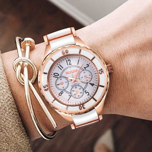 Women Watches Rose Gold Watch Full Steel Women's Watches For Women Clock Ladies Wrist Watch 2019 bayan kol saati reloj mujer
