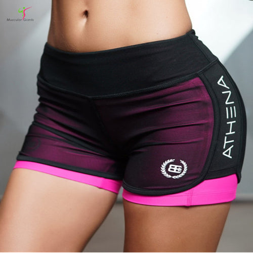 Women's Workout Shorts Quick-drying Elasticity Cool