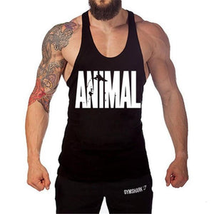 Animal Mens Tank Tops Bodybuilding and Fitness